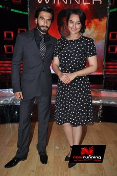 Ranveer Singh and Sonakshi at the grand finale of Master Chef
