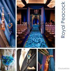 Indian Weddings Peacock Theme I Love