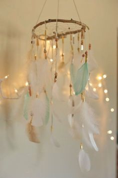 Beautiful boho decorations and tribal ideas for the cutest baby shower! Arrows, dreamcatchers and..