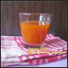 Motions and Emotions: Papaya Juice