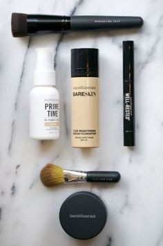 How to Get A Bare Skin Complexion With Bare Minerals Makeup by @chelsey hale | west coast capri on @Beca Alexander http://shar.es/S2bQW