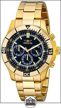 Invicta 12844 - Reloj unisex color dorado de  ✿ Relojes para hombre - (Gama media/alta) ✿
