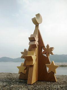 クリスマスツリー 聖夜 ブログ七曜工房みかん島より