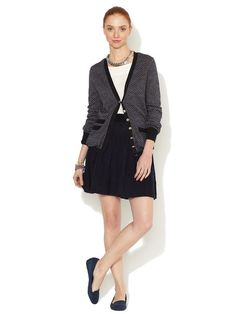 A sweater SKIRT! What could be more comfortable? (Marc by Marc Jacobs Wool Cable Sweater Skirt on Gilt)