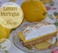 Whip up this divine, sinfully sweet recipe for Lemon Meringue Bars Healthy Family Meals, Kids Meals, Healthy Snacks, Healthy Recipes, Lemon Recipes, Sweet Recipes, Home Recipes, Family Recipes, Meringue