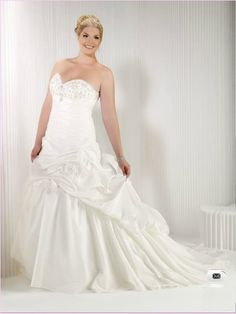 #Plus #Size #Wedding #Dress, #Fat Style #Bride Gown ,#Bridal Dress, #Fashion