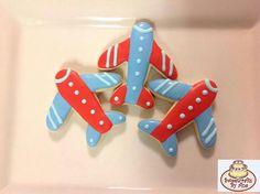 Airplane cookies.