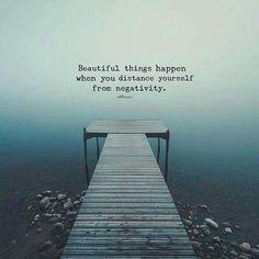 Avoid negativity!