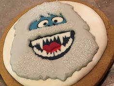 8 Best Abominable Snowman Bumble Yeti Christmas Cookies Images In