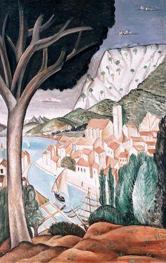 André Derain , Harbor in Provence . Martigues