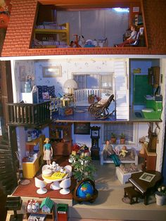 doll house #fisher_price #vintage