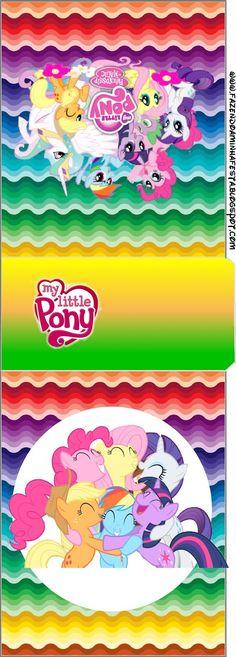 Imprimibles de My Little Pony 2.   Ideas y material gratis para fiestas y celebraciones Oh My Fiesta!