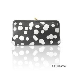 まるあ がま口 長財布 longwallet  dots wallet Tokyo Japan, Coin Purse, Wallet, Purses, Bags, Handbags, Handbags, Tokyo, Taschen