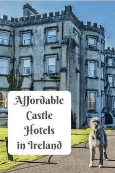 Want to sleep in a Castle Hotel in Ireland? You can without breaking the bank at these stunning Irish castle hotels! Scotland Travel, Ireland Travel, Scotland Trip, Galway Ireland, Cork Ireland, Europe Travel Tips, Places To Travel, Vacation Places, Travel Diys