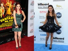 Before  After: Ariana Grande
