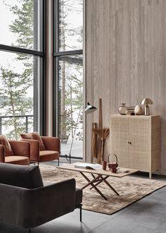 New home with a warm interior / interior design Home Interior Design, Room Design, Interior Design, House Interior, Living Room Scandinavian, Living Decor, Warm Interior, Living Design, Living Room Designs