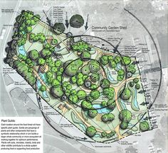 Austin, TX food forest concept. Very cool!