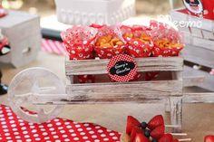Minnie Mouse Birthday Party via Kara's Party Ideas | KarasPartyIdeas.com (17)