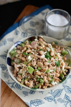 Italian Tuna and White Bean Farro Salad   Aggie's Kitchen