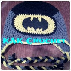 Check out this item in my Etsy shop https://www.etsy.com/listing/222386784/batman-hat