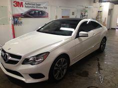 2014 Mercedes E350 Coupe 15% tint all around