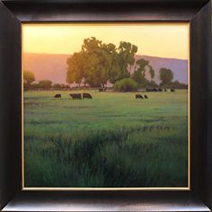 The Setting Summer Sun by Kevin Courter Oil ~ 24 x 24