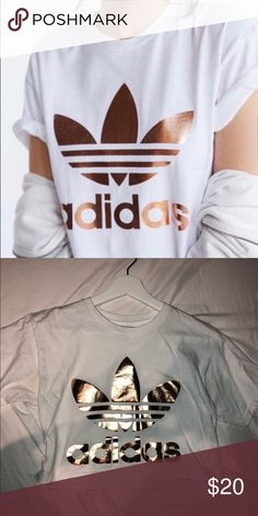 f94762c38a Wore a few times adidas Tops Crop Tops Gold