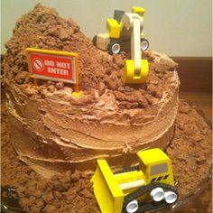 Boys Birthday Cake.... So simple!
