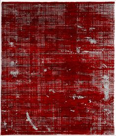 Patina B Hand Knotted Tibetan Rug from the Tibetan Rugs 1 collection at Modern Area Rugs Carpet Tiles, Rugs On Carpet, Pattern Art, Print Patterns, City Center Apartments, Tibetan Rugs, Photo Album Scrapbooking, Modern Area Rugs, Carpet Design
