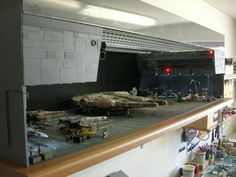 sci fi hangar model diorama - Google Search