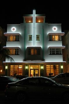 Miami Art Deco // McAlpin Hotel, Miami, Florida.