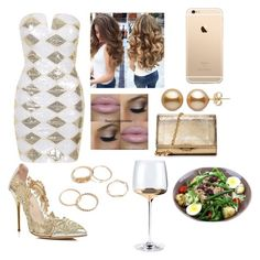 """Gorgeous In gold"" by stephen-james-lover ❤ liked on Polyvore featuring Rare London, Oscar de la Renta and Michael Kors"