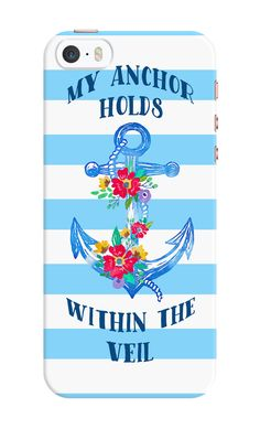My Anchor Holds Within The Veil Phone Case - iPhone & Samsung