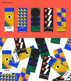 Festival-Events on Behance Sf Design Week, Web Design, Indian Home Design, Graphic Design Posters, Graphic Design Inspiration, Identity Design, Visual Identity, Brochure Design, Event Branding