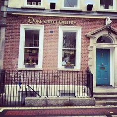 The coolest gallery of Dubliiiiiin!  #DukeStreetGallery #intern #art #Ireland