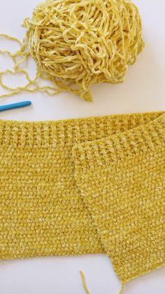 These velvet winter hats are my favorite hats I've ever made! If you've ever felt velvet yarn then you know… Crochet Beanie, Crochet Baby, Knitted Hats, Knit Crochet, Knitting Patterns, Crochet Patterns, Back Post Double Crochet, Summer Knitting, Beanie Pattern