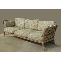 Vintage Mid Century Modern McGuire Bamboo Sofa Settee | Chairish Unique Furniture, Vintage Furniture, Bamboo Sofa, Settee Sofa, Outdoor Sofa, Mid-century Modern, Love Seat, Mid Century, Cushions