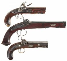 Black Powder Rifles and Pistols | Black Powder Guns and How to Care for Them