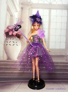 déguisement Fée pour poupée barbieBarbie fashionistas barbie