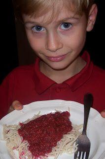 Tomato Free Spaghetti Sauce ~ Feingold ~