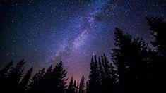 Night Sky Acrylic Painting
