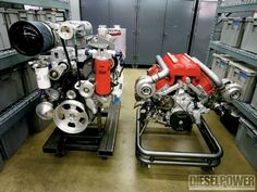 1009dp 800hp Twin Turbo Duramax Crate Engine banks Supercharged And Turbocharged Engines