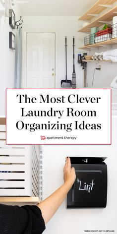 16 Laundry Room Organization Ideas: Hacks, Products & Photos   Apartment Therapy Laundry Room Remodel, Laundry Closet, Laundry Room Organization, Organization Ideas, Laundry Room Floors, Storage For Laundry Room, Organized Laundry Rooms, Laundry Detergent Storage, Laundry Doors