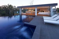 Pool, spa & outdoor room