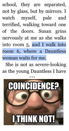 haha :') oh no wait.... just... thought about her being dead...