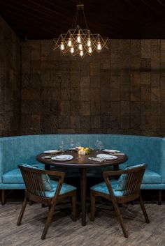 Vintage Looking Restaurant Design Has Modern Experience | Neovana Design the concept was to create a modern/vintage fine dining experience.