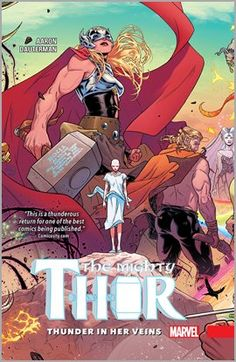 The Mighty Thor offers a spin on the familiar tale of Marvel's beloved superhero Thor. Watch as Jane Foster wields Mjölnir as Thor, the goddess of thunder. Lady Thor, Thor 1, New Thor, Marvel Comics, Marvel Heroes, Marvel Dc, Jane Foster, Beste Comics, Female Thor