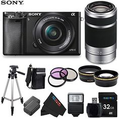 Sony Alpha a6000 ILCE6000 Interchangeable Lens Camera *** You can get additional details at the image link.