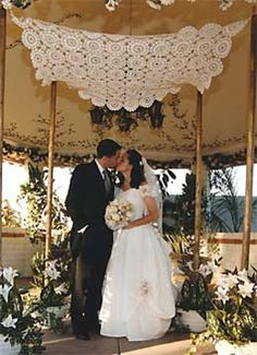 Ravelry: Wedding Canopy pattern by Alison Reilly