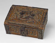Wohl Oberrhein, erste Hälfte 15. Jh.Gotisches Minnekästchen, Auktion 1075 Kunstgewerbe, Lot 907
